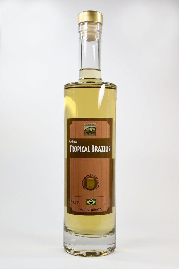 Bio-Cachaça Tropical Brazilis barrique 40%